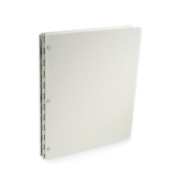 Vista Screwpost Portfolio Cover by Pina Zangaro » 13x19 Portrait » Snow (White)