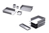 Standard Side Letter Tray for Desktop or Wall by Rexite » Aluminum