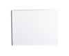 Handmade Double Thick Screwpost Portfolio Cover by Shrapnel Design » 11x14 Landscape » Gloss White Aluminum